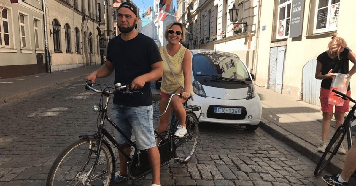 Велосипедные экскурсии по Риге, разные маршруты, отличные гиды