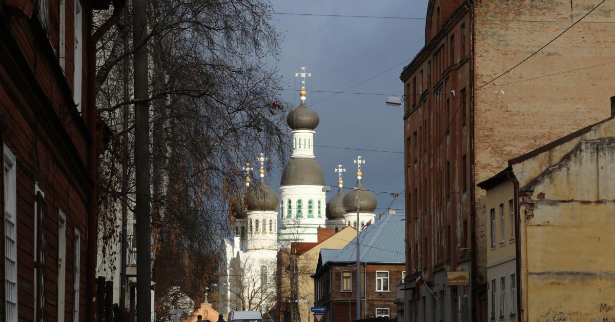 Ekskursija pa Maskavas forštati. Baznīcas