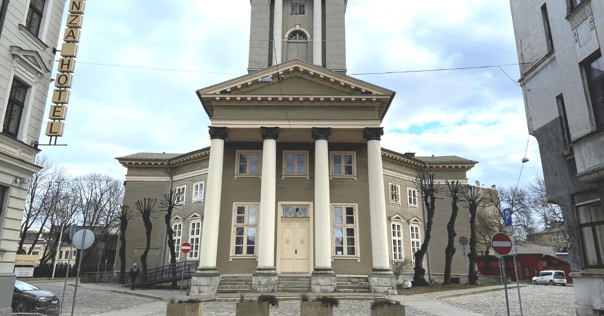 Rīgas ekskursijas. Jēzus baznīca