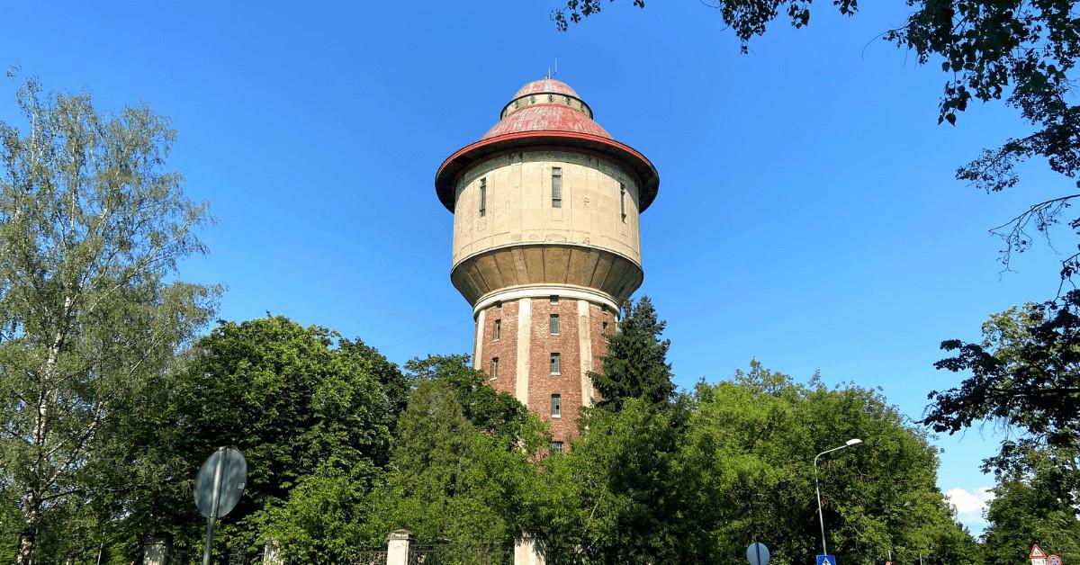 Rīgas ekskursijas Čiekurkalnā, pie ūdenstorņa