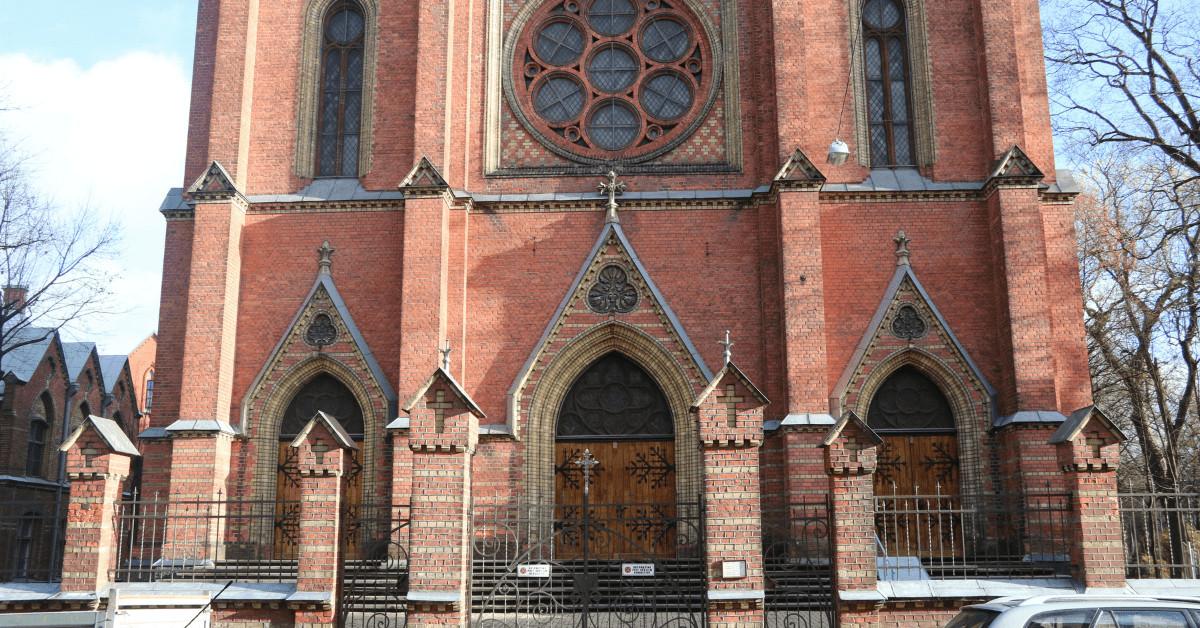 Ekskursija pa Maskavas forštati. Svētā Franciska Romas Katoļu baznīca